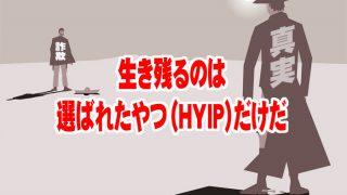 詐欺サイト化するHYIPとしぶとく生き残るHYIPの特徴【HYIP投資基本】