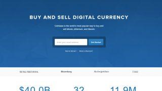 海外取引所Coinbase、24時間で10万人のユーザー増加。海外でも過熱するビットコイン投資