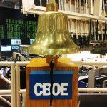 CBOE先物取引開始直後にビットコイン高騰!契約件数はすでに数千件に及ぶ