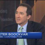 CNBCにてWall StreetのベテランPeter Boockvarのバブル論が紹介され嫌気ムード