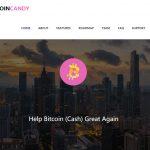 BitcoinCashサポートの為のハードフォークで1/13にBitcoinキャンディが配られる