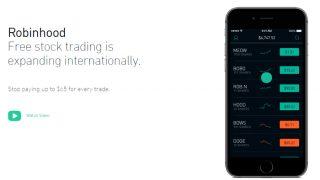仮想通貨交換仲介アプリRobinhoodは米国5つの州で取引を開始する